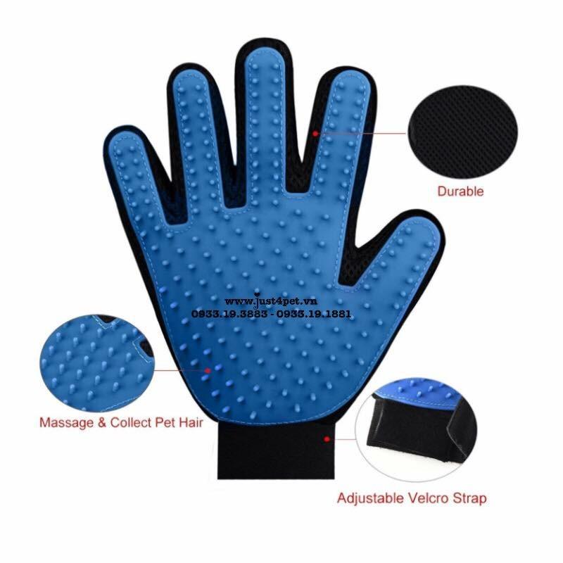 Găng Tay Tắm Và Chải Lông Pet gloves