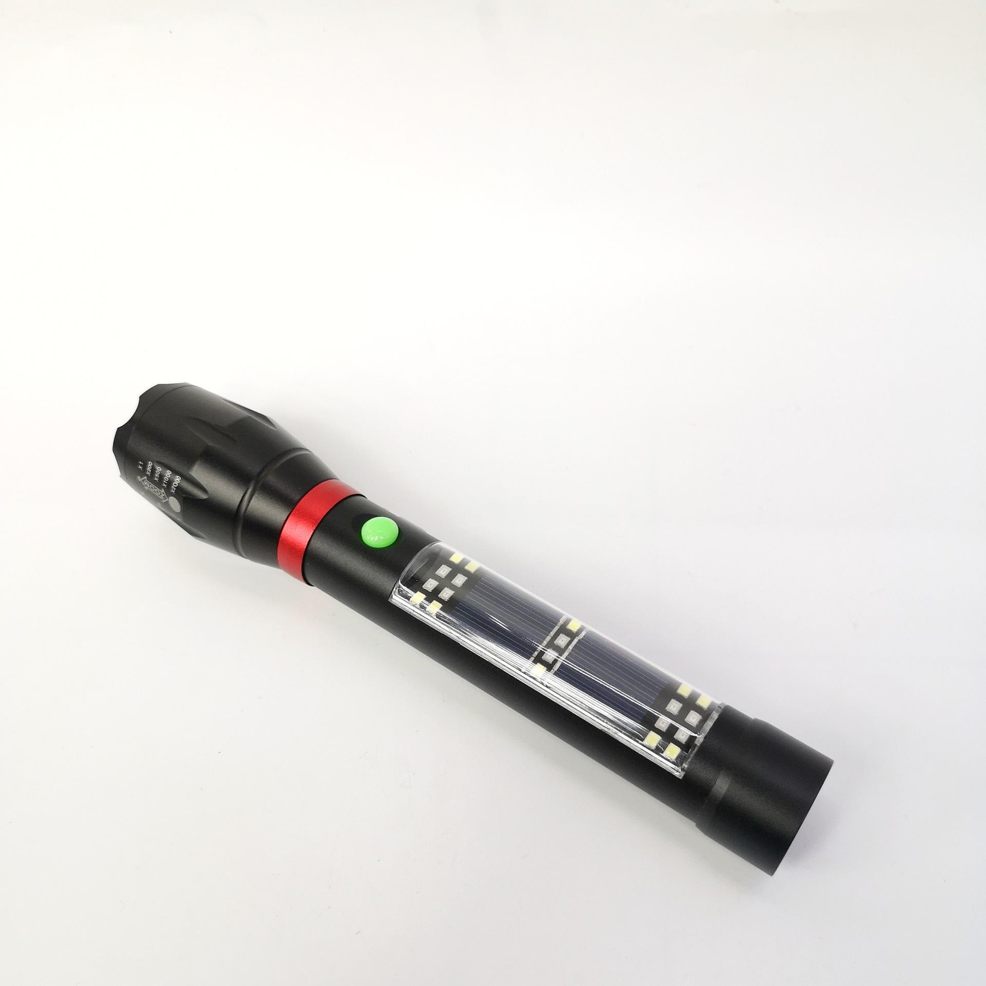 Đèn pin T03 đèn nhiều chế độ có còi