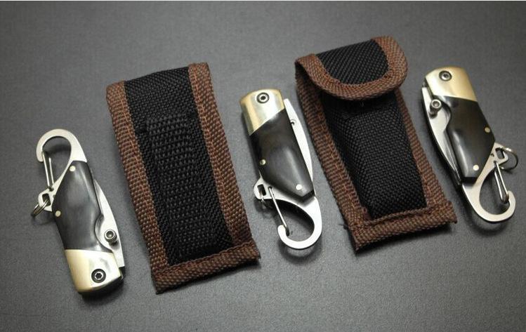 Móc khóa kèm dao mini