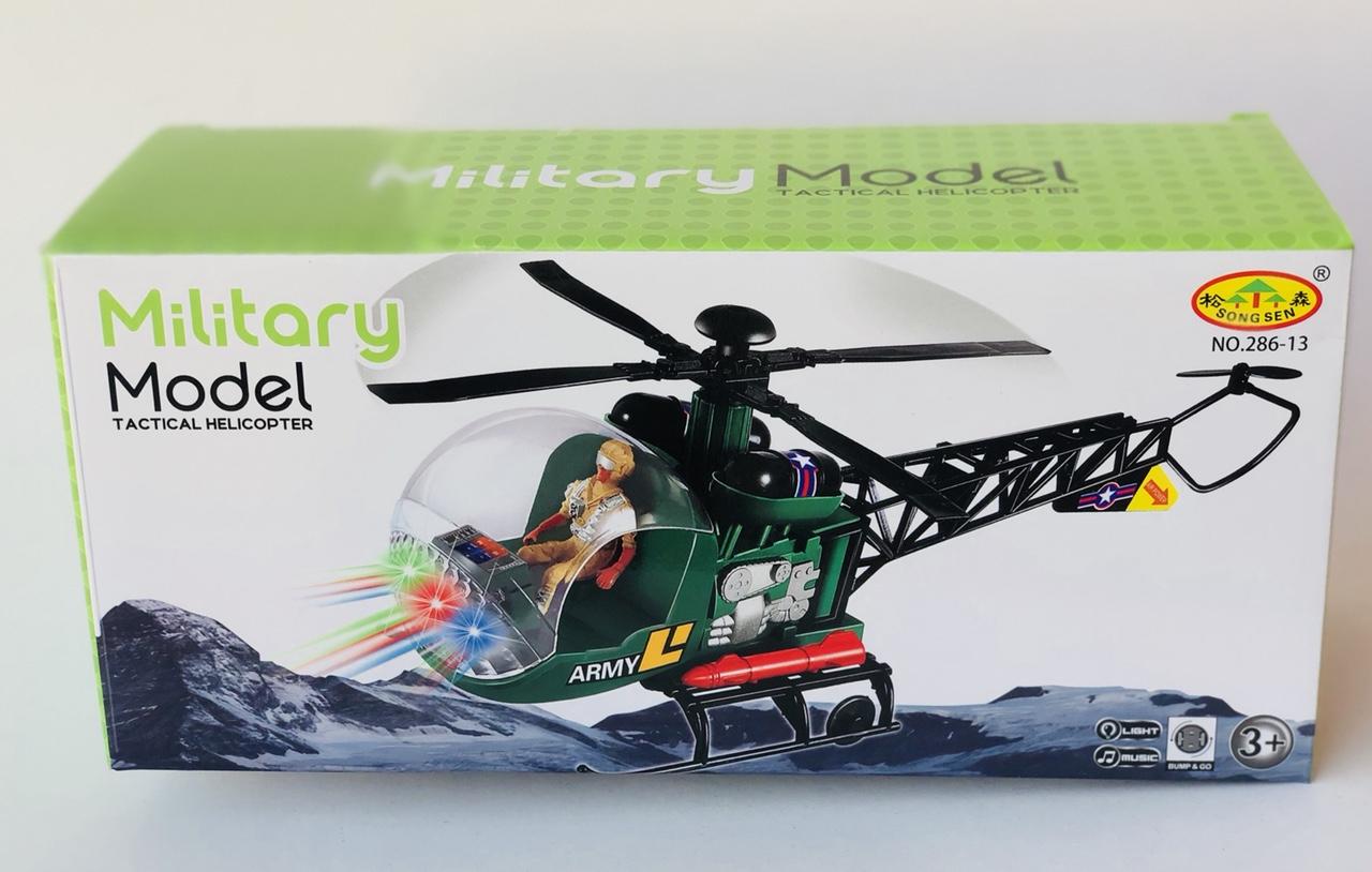 Đồ chơi máy bay trực thăng Mititary