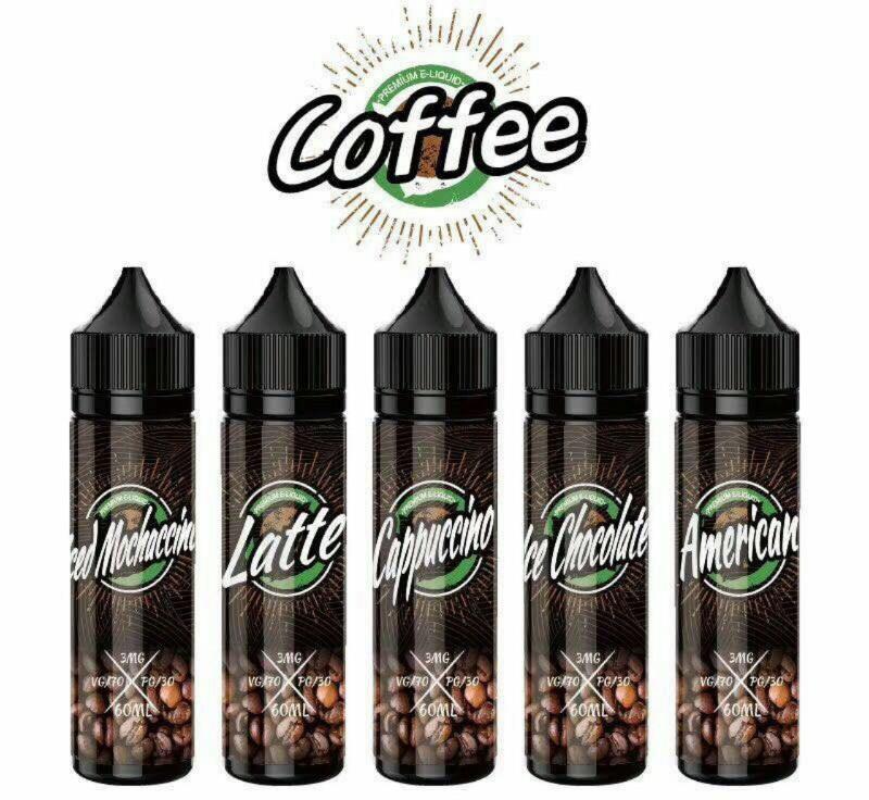 Tinh dầu thuốc lá điện tử mùi Cafe