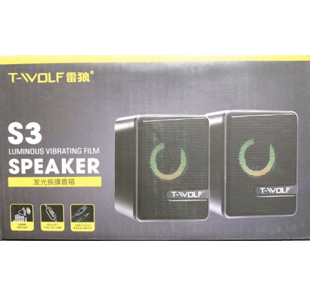 LOA 2.0 T-WOFT S3 LED NGUỒN USB